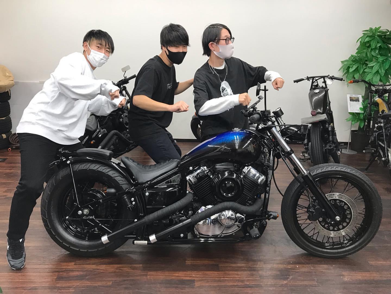 ドラックスター400納車☆in横浜店☆